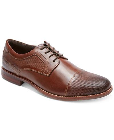 Men's Style Purpose Cap Toe Oxford