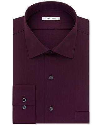 Van heusen big and tall classic fit flex collar solid for Van heusen shirts flex collar
