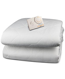Biddeford Quilted Heated Twin Mattress Pad