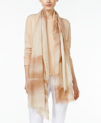Eileen Fisher Fringe-Trim Scarf