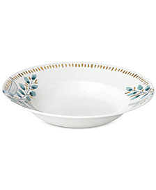 Lenox Goldenrod Collection Pasta Bowl/Rim Soup Bowl