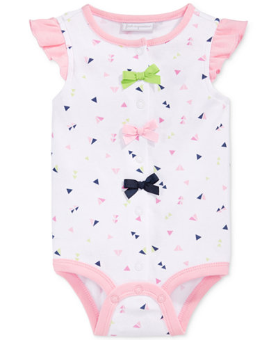 First Impressions Triangle-Print Creeper, Baby Girls (0-24 months), Only at Macy's