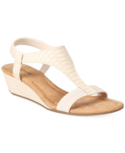 Alfani Vacanzaa Wedge Sandals, Created for Macy's