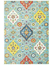"""CLOSEOUT! Vibe Persian Garden 7'10"""" x 10'10"""" Area Rug"""