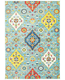 "CLOSEOUT! JHB Design Vibe Persian Garden 6'7"" x 9'6""Area Rug"