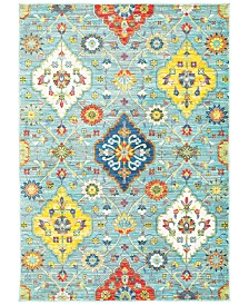 "CLOSEOUT! JHB Design Vibe Persian Garden 1'10"" x 3' Area Rug"