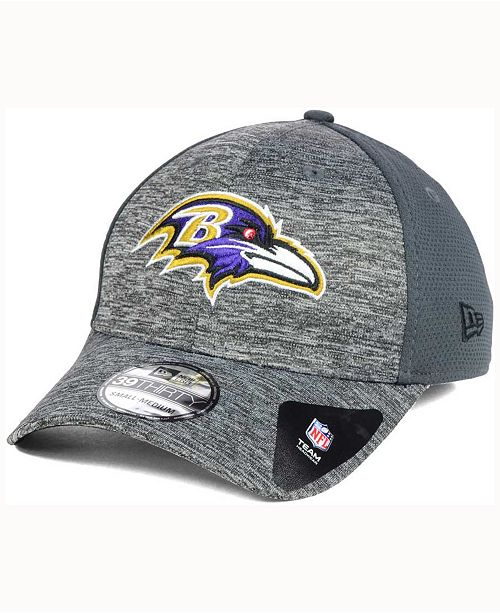 low priced f9b66 a6f97 ... New Era Baltimore Ravens Shadowed Team Flex 39THIRTY Cap ...