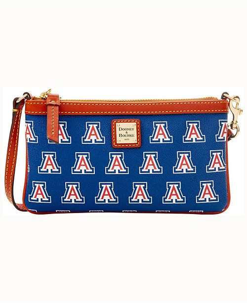 Dooney & Bourke Arizona Wildcats Large Slim Wristlet