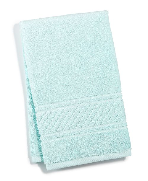 "Martha Stewart Collection 15"" x 28"" Spa Hand Towel, Created for Macy's"