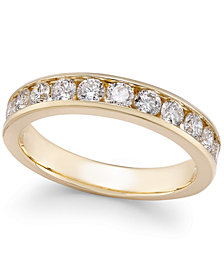 Diamond Channel-Set Band (1-1/2 ct. t.w.) in 14k Gold or White Gold