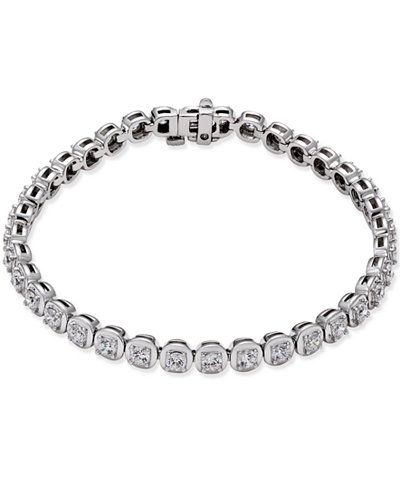 Certified Diamond Tennis Bracelet 4 Ct T W In 14k