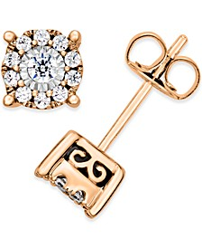 Diamond Stud Earrings (1/3 ct. t.w.) in 14K White, Yellow or Rose Gold