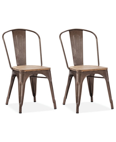 Walker Set of 2 Side Chairs, Quick Ship