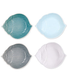 Fitz and Floyd Cape Coral Collection 4-Pc. Assorted Shell Bowl Set