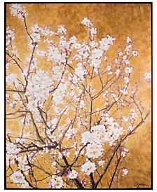 Graham & Brown Blossom Handpainted Framed Canvas Wall Art