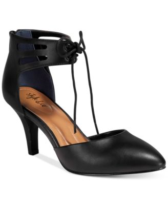Image of Style & Co Women's Vanaa Lace-Up Pumps, Only at Macy's