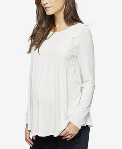A Pea In The Pod Maternity Long-Sleeve T-Shirt