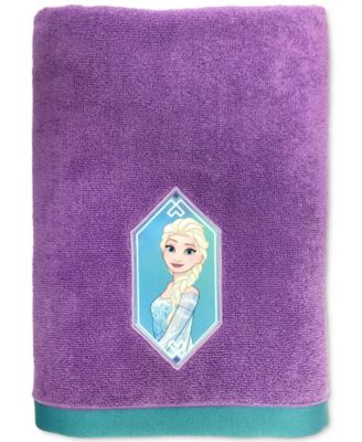 Frozen Elsa Snowflake Bath Towel