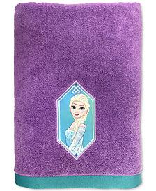 Jay Franco Frozen Elsa Snowflake Bath Towel