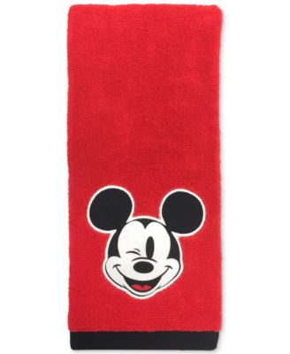 "Big Face Mickey Mouse 16"" x 26"" Hand Towel"