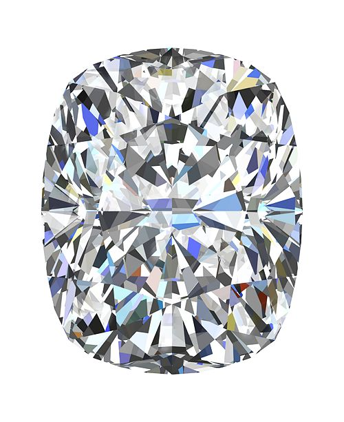 GIA Certified Diamond Cushion (1/2 ct. t.w.)