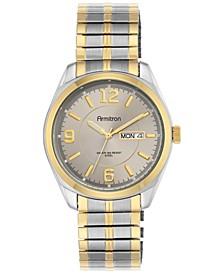 Men's Two-Tone Stainless Steel Bracelet Watch 39mm 20-4591GYTT