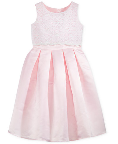 Blush by Us Angels Lace Popover Communion Dress, Big Girls (7-16)