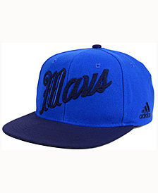 adidas Dallas Mavericks Seasons Greeting Snapback Cap