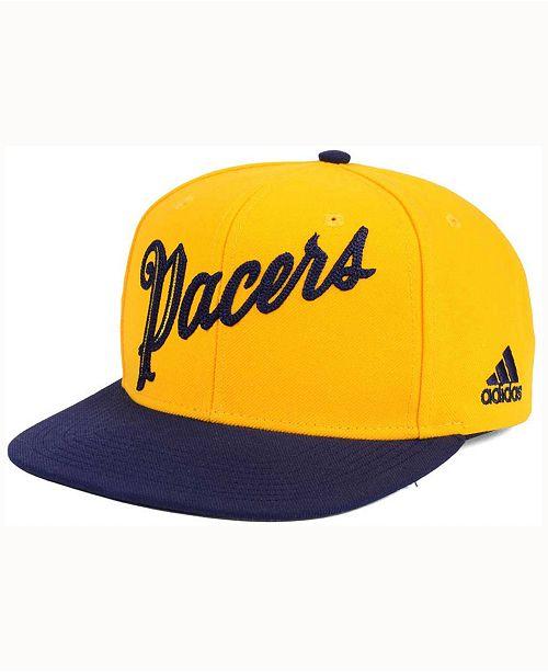 bea0f19f4da adidas Indiana Pacers Seasons Greeting Snapback Cap   Reviews ...