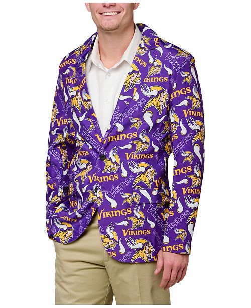 the latest 3446a 307e3 Forever Collectibles Men's Minnesota Vikings Fan Suit Jacket ...