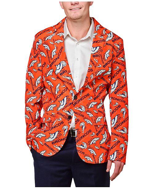 503dd99ac6d Forever Collectibles Men s Denver Broncos Fan Suit Jacket   Reviews ...
