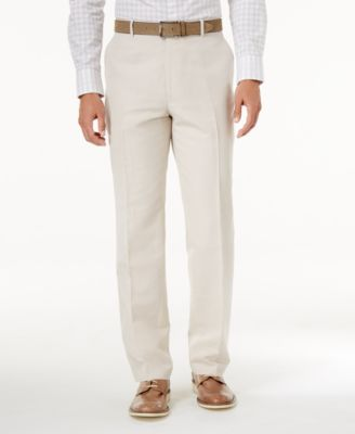 I.N.C. Men's Linen-Blend Dress Pants, Created for Macy's