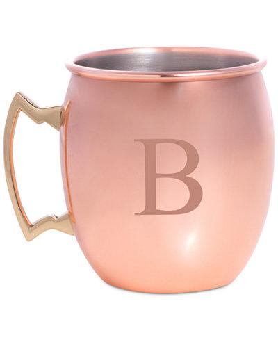 Bey-Berk Monogrammed Moscow Mule Mug