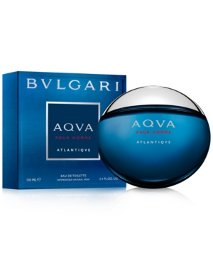 Bvlgari Aqua Atlantique Eau de Toilette Spray, 3.4 oz
