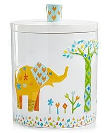 Origami Jungle Covered Jar