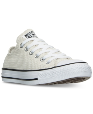 Converse Chuck Taylor Ox Sneaker in Buff/ Black/ White