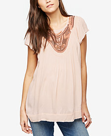 A Pea In The Pod Maternity Embellished Top