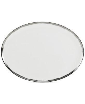 Blakeslee Platinum Oval Platter