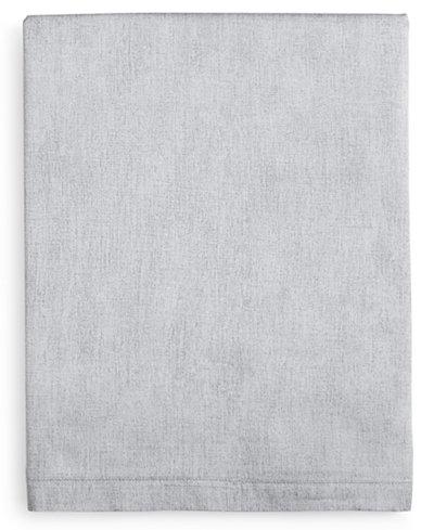 Calvin Klein Kura Cotton 280 Thread Count Queen Flat Sheet