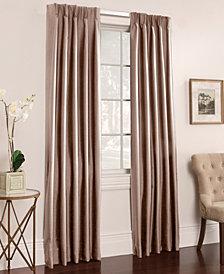 "Miller Curtains Buckingham Antique Satin Pair of 50"" x 72"" Window Panels"