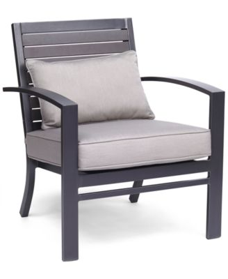 Marlough Aluminum Outdoor Club Chair