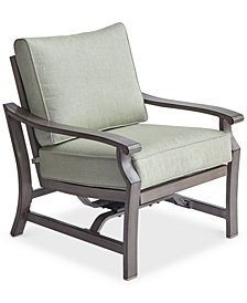 Tara Aluminum Outdoor Rocker Chair, Created for Macy's