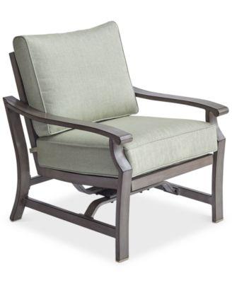 Tara Aluminum Outdoor Rocker Chair, Created For Macyu0027s