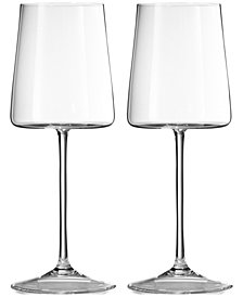 Vera Wang Wedgwood Metropolitan Wine Glass Pair
