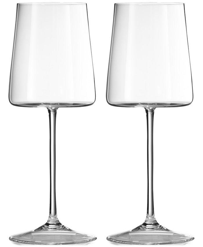Vera Wang Wedgwood - Metropolitan Wine Glass Pair