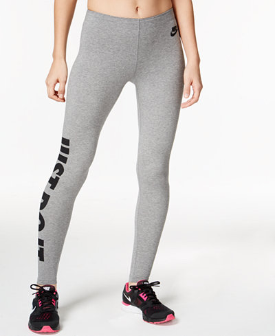 nike leg a see just do it dri fit leggings pants women. Black Bedroom Furniture Sets. Home Design Ideas