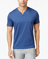 6f74d1f8c Alfani Men's Stretch Solid, Henley T-Shirt, Created for Macy's. Quickview. 5  colors