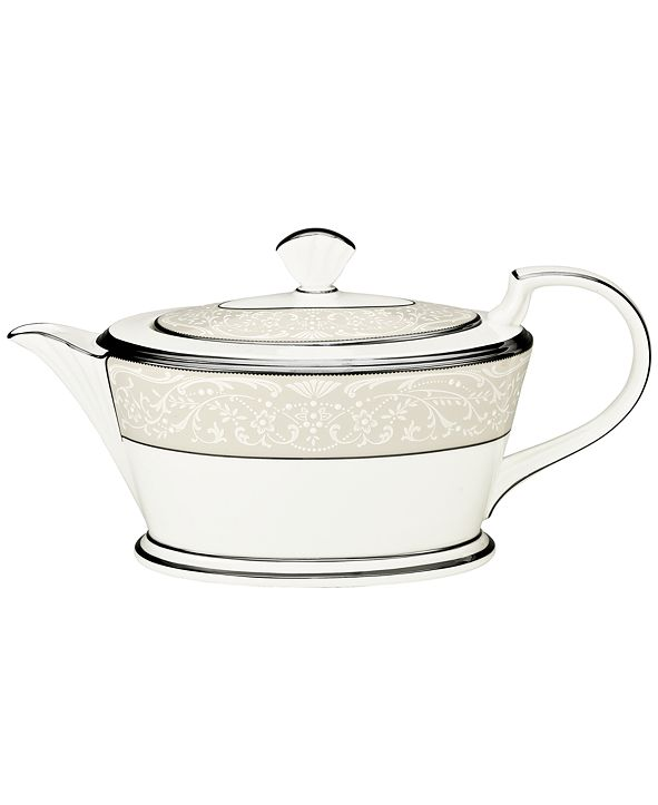 "Noritake ""Silver Palace"" Teapot"