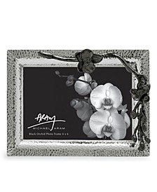 "Black Orchid 4"" x 6"" Picture Frame"