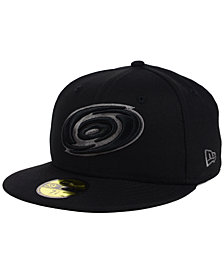 New Era Carolina Hurricanes Black Graph 59FIFTY Cap